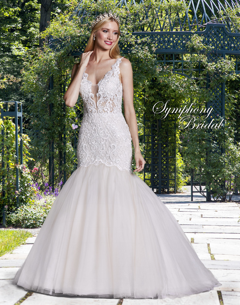 Symphony Bridal gowns are our signature collection of exquisitely designed and crafted wedding dresses.