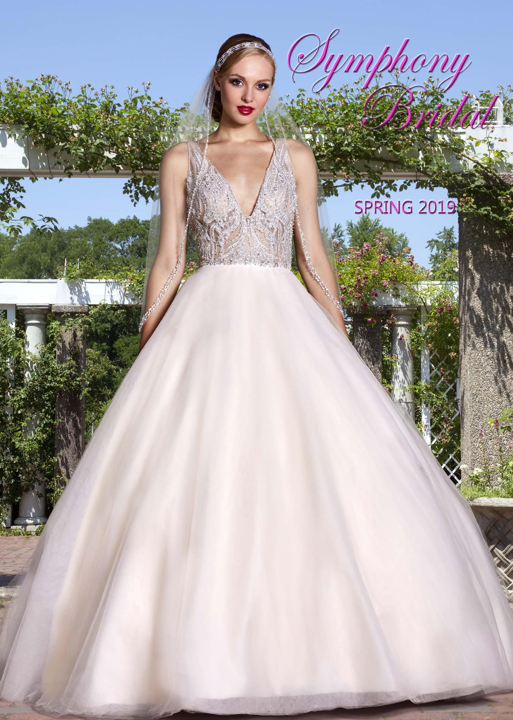 Symphony Bridal Spring 2019 Catalog